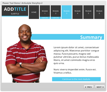 Articulate Rapid E-Learning Blog - elearning example in Articulate Storyline