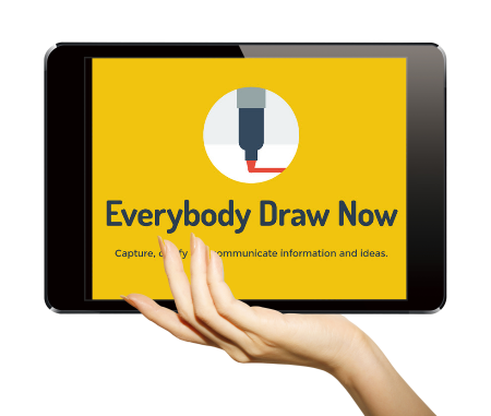 Articulate Rapid E-Learning Blog - create hand-drawn graphics via this ebook Everybody Draw Now