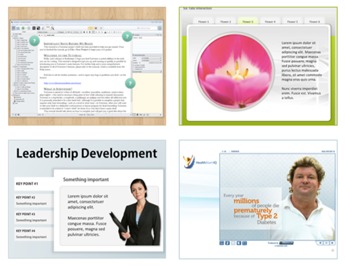 Articulate Rapid E-Learning Blog - top PowerPoint tips elearning examples